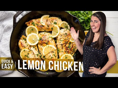 How to Make Quick and Easy Lemon Chicken | The Stay At Home Chef