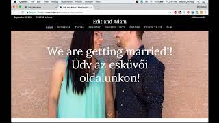 ZOLA Wedding Website and Wedding Registry Tutorial