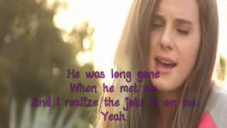 I Knew You Were Trouble cover - Tiffany Alvord (lyric video)
