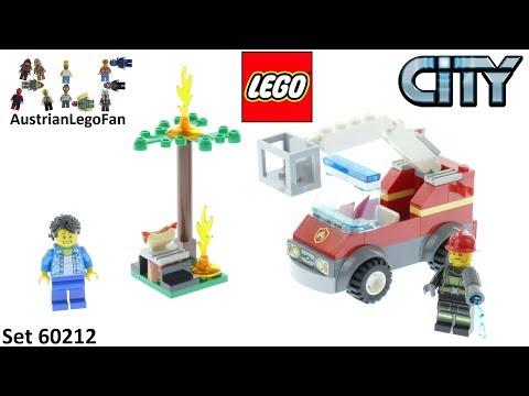 Vidéo LEGO City 60212 : L'extinction du barbecue