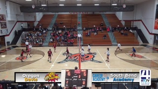 Volleyball Sectional South Bend Career Academy vs Oregon Davis