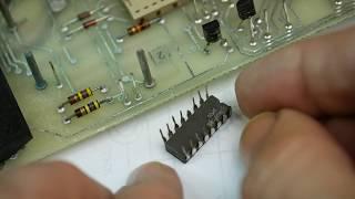 More Fault Finding On The Fluke 8600A Multimeter