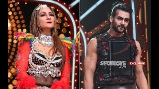 Nach Baliye 9: Wild Cards Urvashi Dholakia And Vishal Singh Share Cold Vibes On Set | TV | SpotboyE