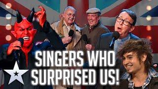 Singers who SURPRISED us! | Britain's Got Talent