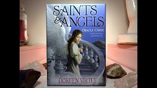 🙏 Saints & Angels Cards 🙏Unboxing of these beautiful cards by Doreen Virtue 🙏