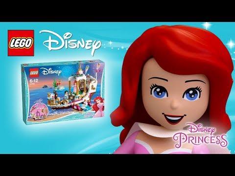 Vidéo LEGO Disney 41153 : Mariage sur le navire royal d'Ariel
