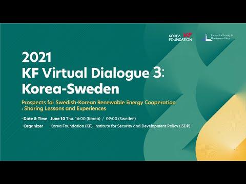 2021 KF Virtual Dialogue 3: Korea-Sweden