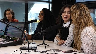 The girls from Fifth Harmony attempt their best Kiwi accent