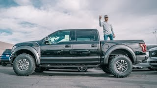 Taking delivery of my Raptor!!!