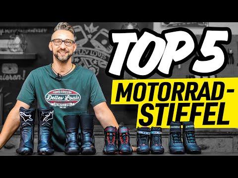 TOP 5 Motorradstiefel 2019