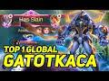 Combo Hero Gatotkaca Build Tank Mobile Legends Top 1 Global Gatotkaca