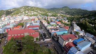 Entrepot to central Castries FPV