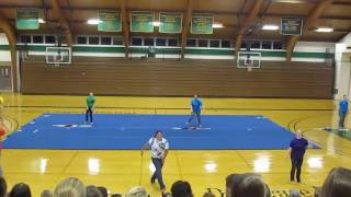 Color Guard at Delaware Valley College Homecoming 2012