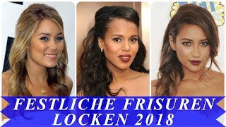 Aktuelle festliche frisuren 2018 damen