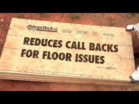 AdvanTech Flooring's Nail Holding Power