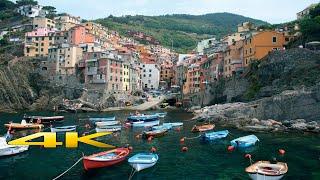 Cinque Terre Italy 4K 🇮🇹 (Train & Boat )