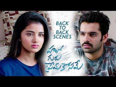 Hello Guru Prema Kosame Back to Back Scenes - Ram Pothineni, Anupama  Blockbuster Family Entertainer