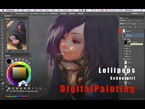 digital art of a girl by webang111