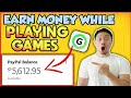 Earn money while PLAYING GAMES (FREE PAYPAL CASH🤑)