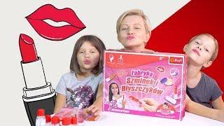 Robimy szminkę i błyszczyk, Fabryka szminek i błyszczyków, Science4you, Dziewczyny Testują