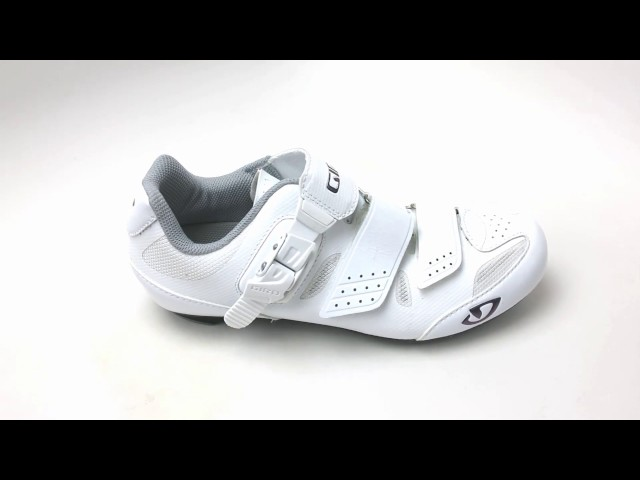 Видео Велотуфли женские Giro Solara II W белые