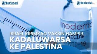 Israel Akan Kirim 1 Juta Vaksin Corona Hampir Kedaluwarsa ke Palestina