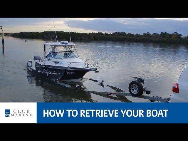 How to retrieve your boat with Alistair McGlashan | Club Marine