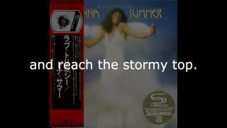 """Donna Summer - Try Me I Know We Can Make It LYRICS HQ SHM """"A Love Trilogy"""" 1976"""