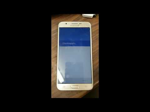 Secure Check Fail Recovery J7 Prime