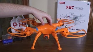 Syma - X8C Venture - Review and Flight