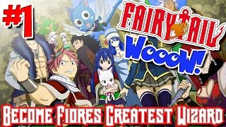 Fairy Tail: WooW! (Minecraft Public Server) - Episode 1   BECOME FIORIE'S GREATEST WIZARD!
