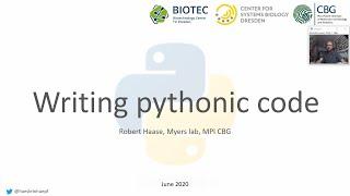 11c Writing pythonic code