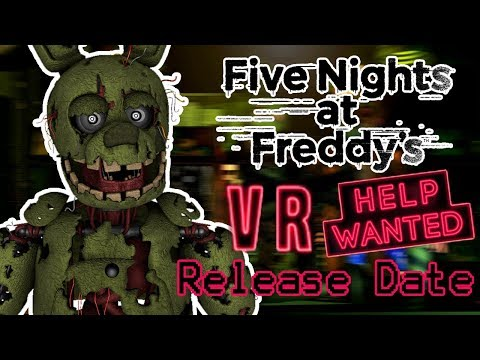 SPRINGTRAP REACTS TO: FNAF VR: Help Wanted Release Date and New Gameplay Info!!!