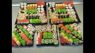 Пошаговый рецепт приготовления роллов(суши).Как я готовлю роллы.