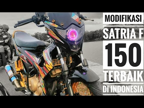 Video Modifikasi ringan Satria F 150. Inspirasi.