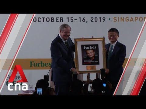 Jack Ma honoured with Forbes Lifetime Achievement Award