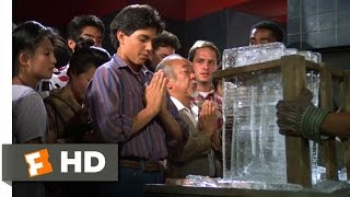 The Karate Kid Part II - Breaking the Ice Scene (4/10)