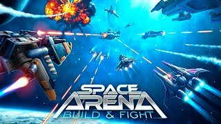 Space Arena: Build and Fight. Обзор игры.