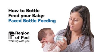 How to Bottle Feed your Baby: Paced Bottle Feeding