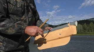 Рыболовная снасть своими руками кораблик