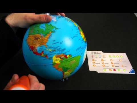 tiptoi: Interaktiver Globus - Ravensburger - Brettspielblog.net
