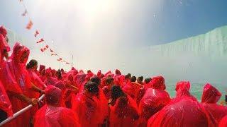 [4K] Niagara Falls - Drenched on a Cruise - Hornblower Niagara Falls Cruise