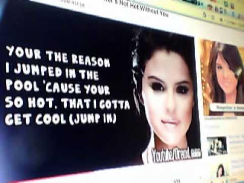 Summer's Not Hot-Selena Gomez Karaoke