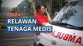 Curhat Sopir Ambulan Wanita Pasien Covid 19: Tak Sempat Makan Siang Hingga Periksa Angin Ban Mobil