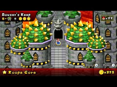 Newer Super Mario Bros Wii - Koopa Core Final Castle