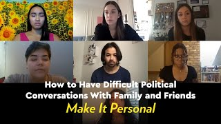 How to Have Difficult Political Conversations | YR Media Young Voters Roundtable by POPSUGAR Girls' Guide