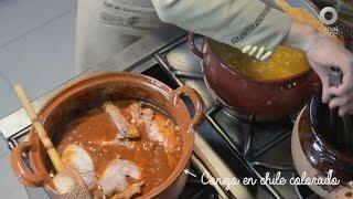 Tu cocina - Conejo en chile colorado