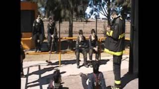 preview picture of video 'Simulador Flashover CEBE Bomberos Voluntarios Rio Tercero 2009'