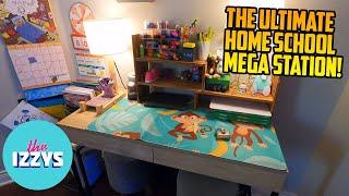 STARTING SCHOOL! Let's make a MEGA WORK STATION!