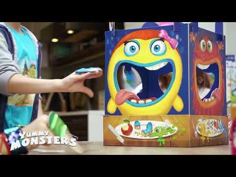 """Das actionreiche Kinderspiel """"Yummy Monsters"""" von HUCH!"""